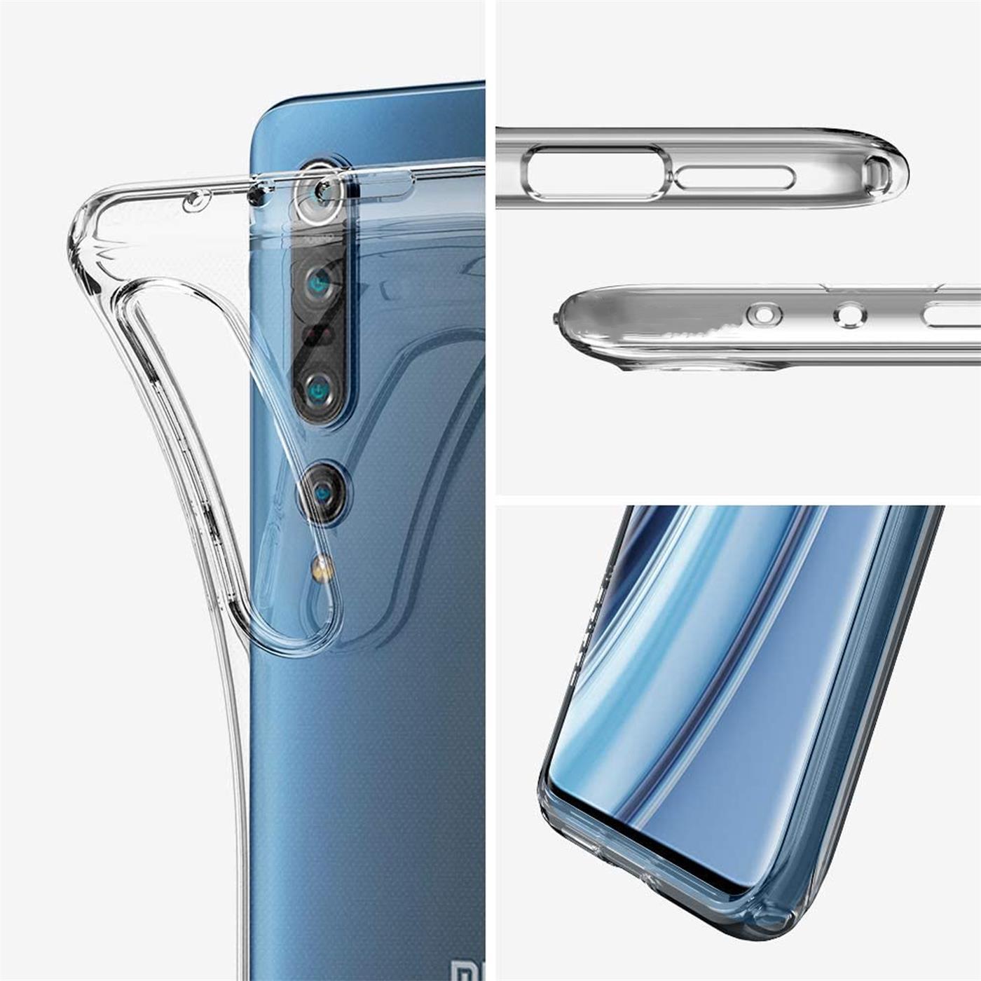 Indexbild 9 - Handy-Case-fuer-Xiaomi-Mi-10-Mi-10-Pro-Huelle-Transparent-Slim-Handyhuelle-Cover