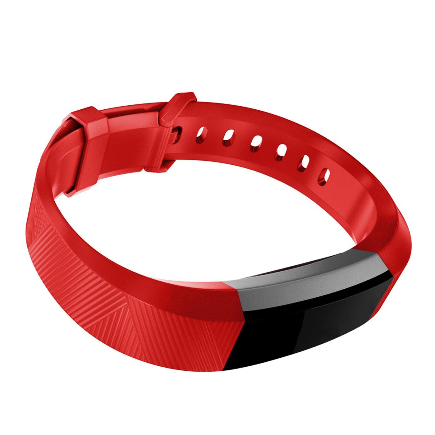 Fitbit-Alta-HR-Gr-S-L-Ersatz-Silikon-Armband-Uhren-Sport-Band-Fitness-Tracker Indexbild 20