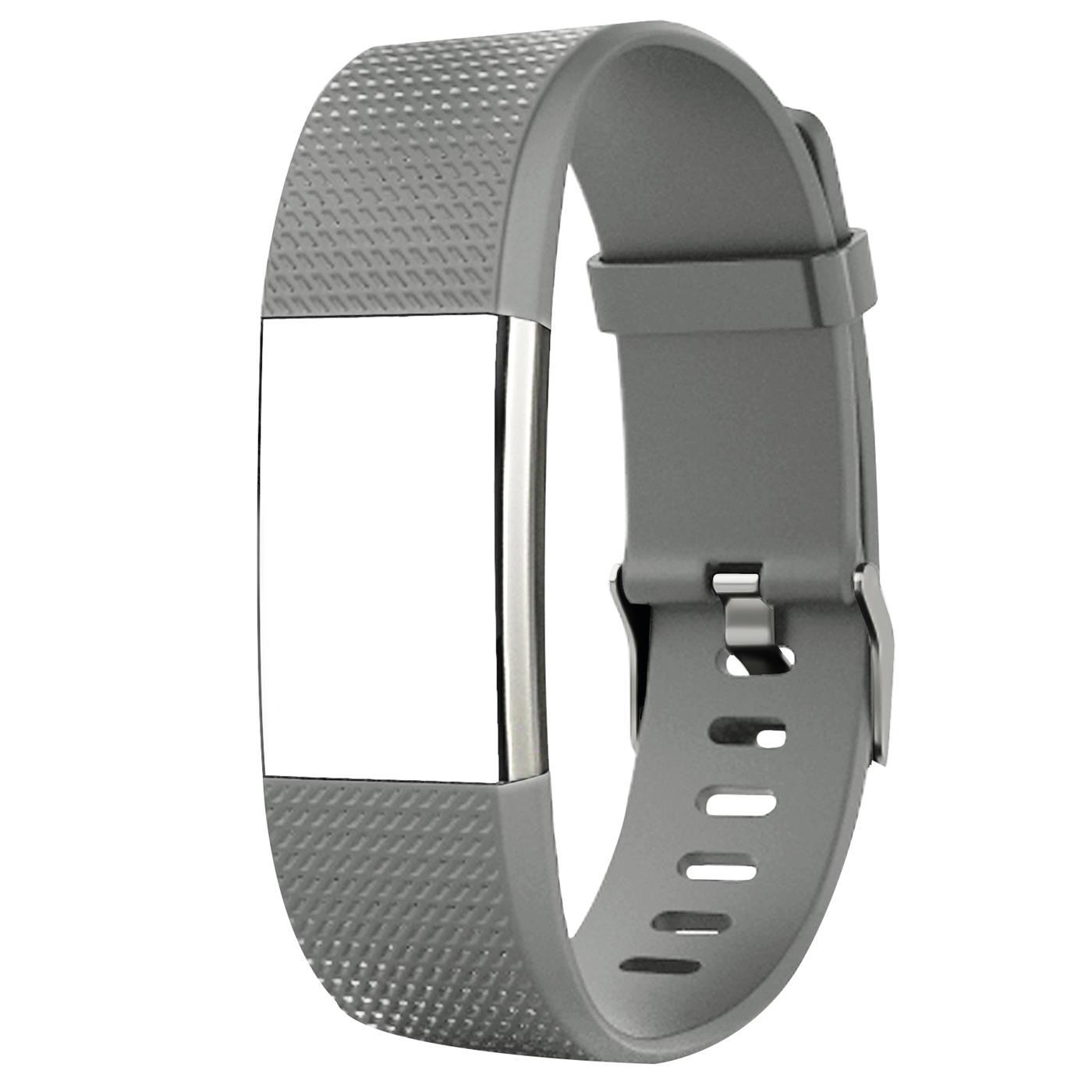 Fitbit-Groesse-S-oder-L-Ersatz-Silikon-Armband-Uhren-Sport-Band-Fitness-Tracker Indexbild 13