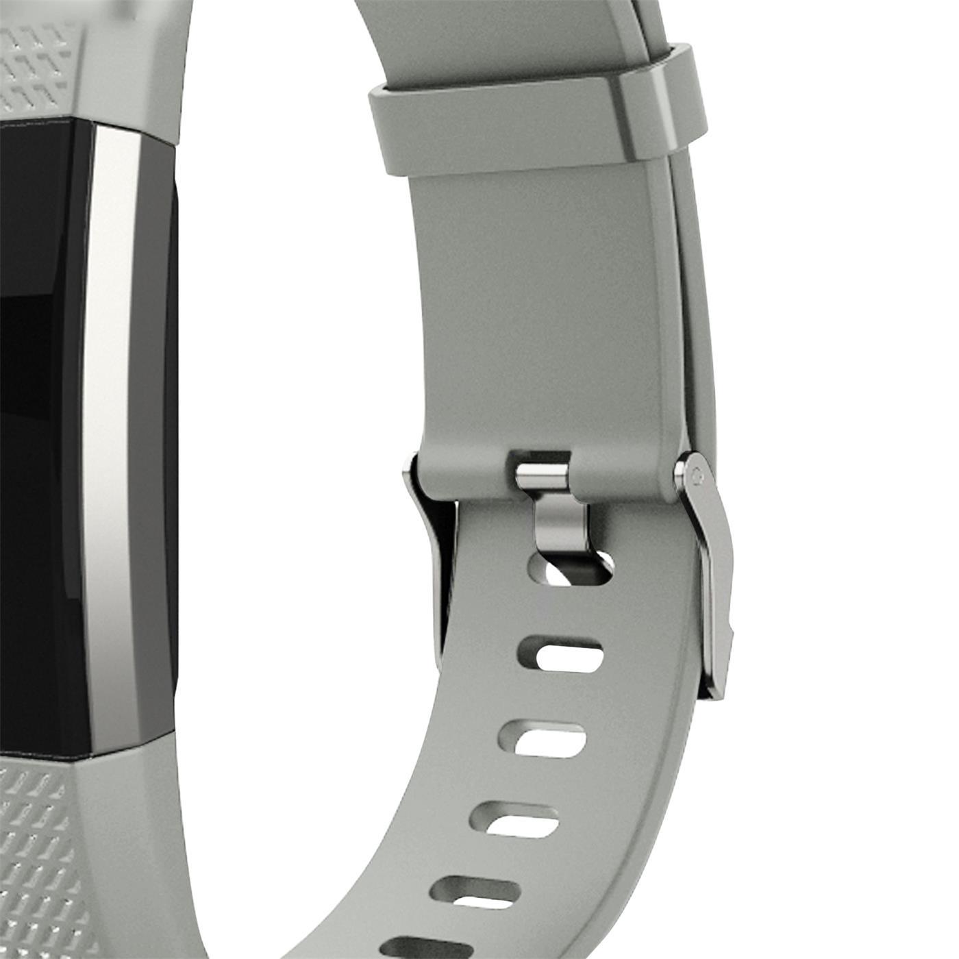 Fitbit-Charge-2-Armband-Ersatz-Silikon-Band-Uhrenarmband-Fitness-6x-Folie