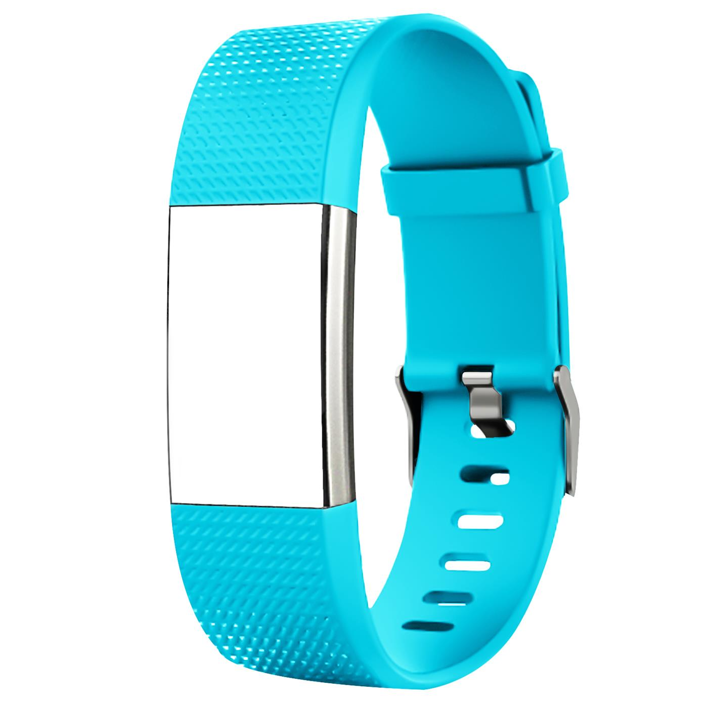 Fitbit-Groesse-S-oder-L-Ersatz-Silikon-Armband-Uhren-Sport-Band-Fitness-Tracker Indexbild 14