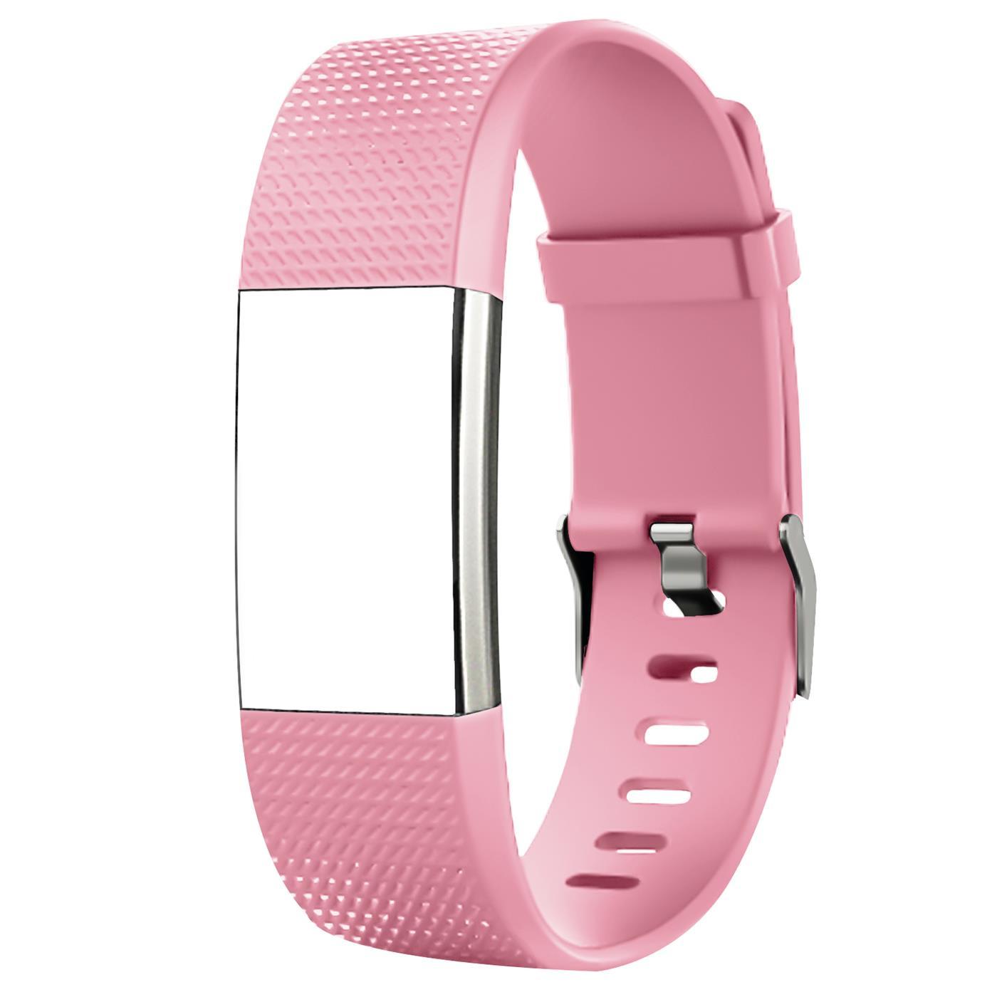 Fitbit-Groesse-S-oder-L-Ersatz-Silikon-Armband-Uhren-Sport-Band-Fitness-Tracker Indexbild 16