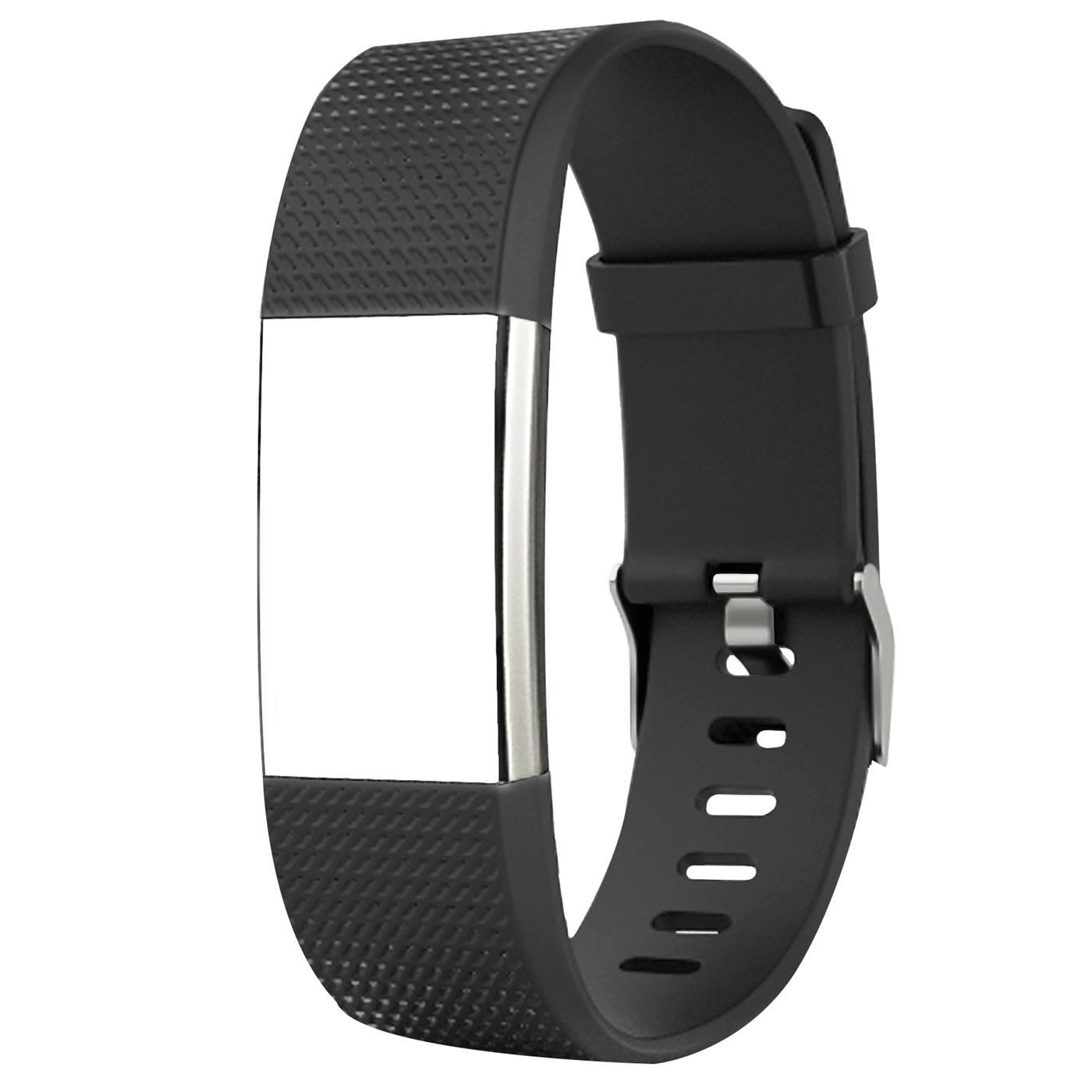 Fitbit-Groesse-S-oder-L-Ersatz-Silikon-Armband-Uhren-Sport-Band-Fitness-Tracker Indexbild 17