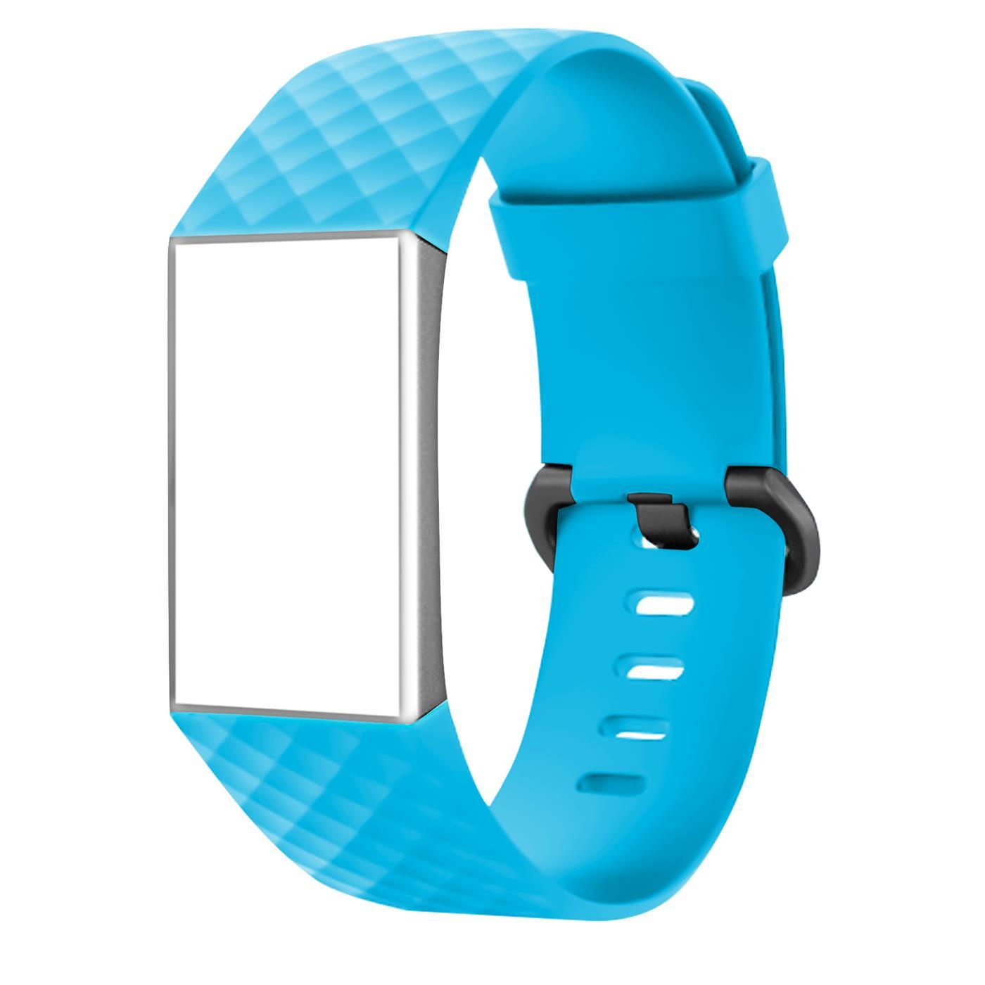 Fitbit-Groesse-S-oder-L-Ersatz-Silikon-Armband-Uhren-Sport-Band-Fitness-Tracker Indexbild 23