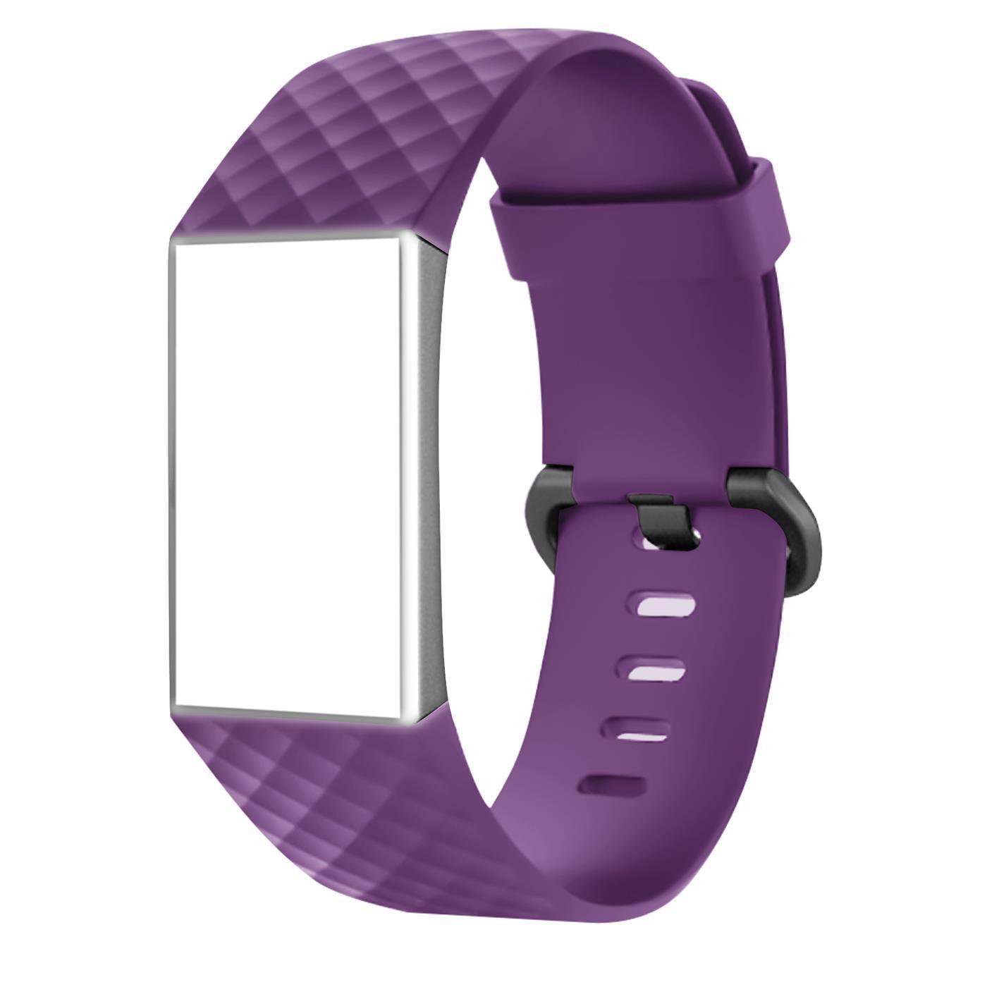 Fitbit-Groesse-S-oder-L-Ersatz-Silikon-Armband-Uhren-Sport-Band-Fitness-Tracker Indexbild 20