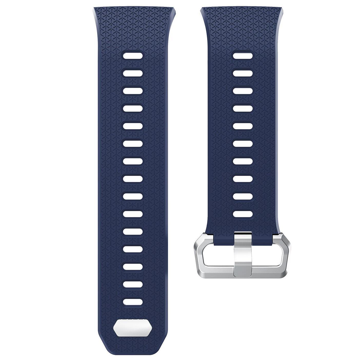 Fitbit-Ionic-Gr-S-L-Ersatz-Silikon-Armband-Uhren-Sport-Band-Fitness-Tracker Indexbild 12