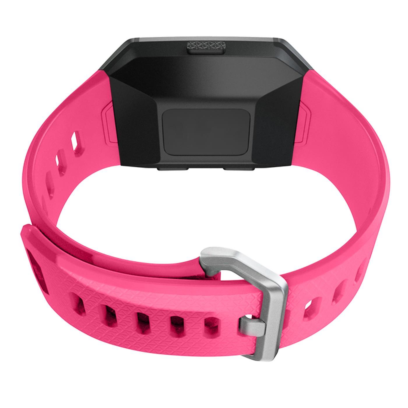 Fitbit-Ionic-Gr-S-L-Ersatz-Silikon-Armband-Uhren-Sport-Band-Fitness-Tracker Indexbild 18