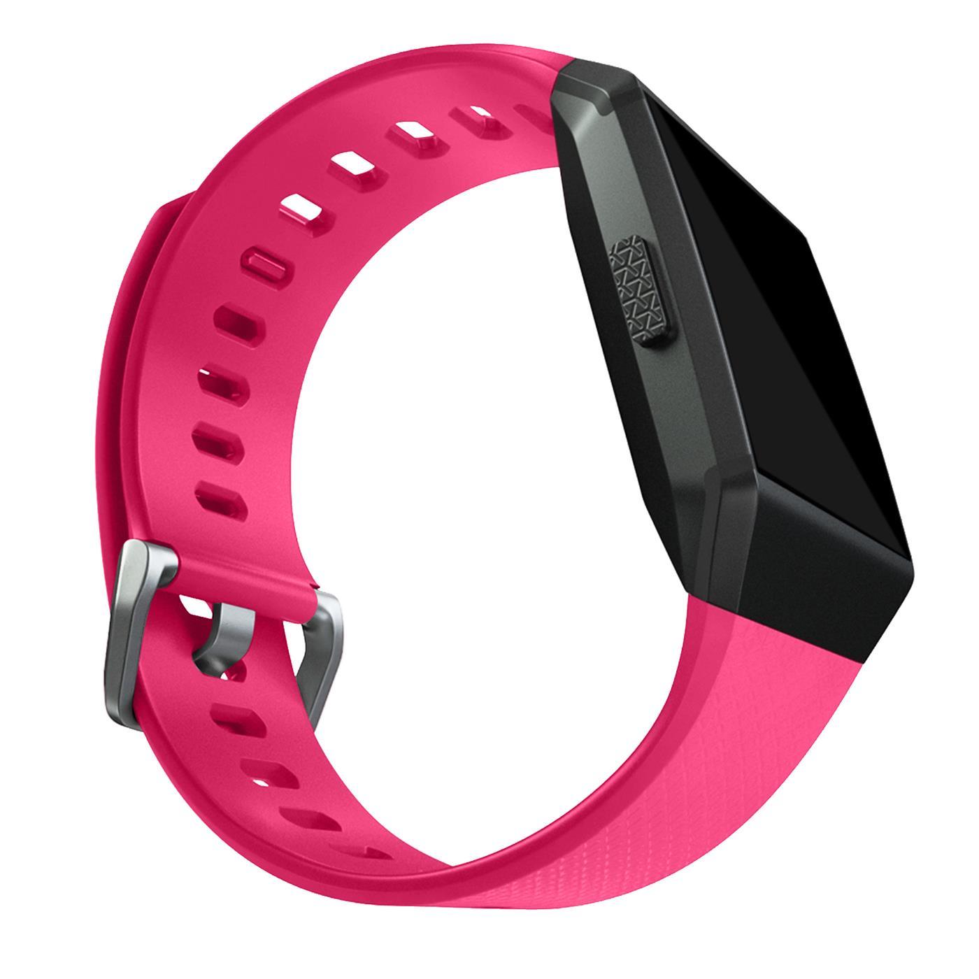 Fitbit-Groesse-S-oder-L-Ersatz-Silikon-Armband-Uhren-Sport-Band-Fitness-Tracker Indexbild 29