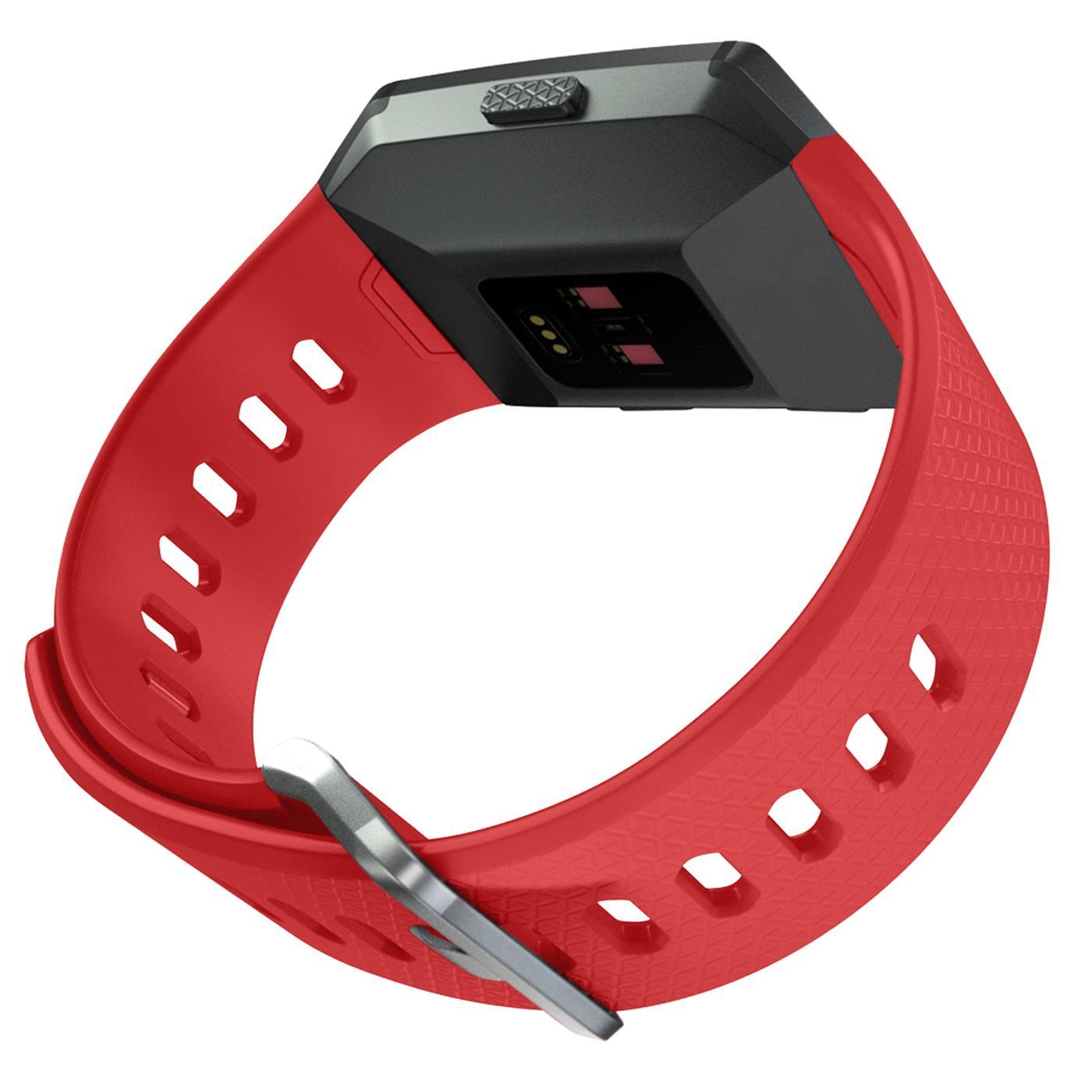 Fitbit-Ionic-Gr-S-L-Ersatz-Silikon-Armband-Uhren-Sport-Band-Fitness-Tracker Indexbild 20