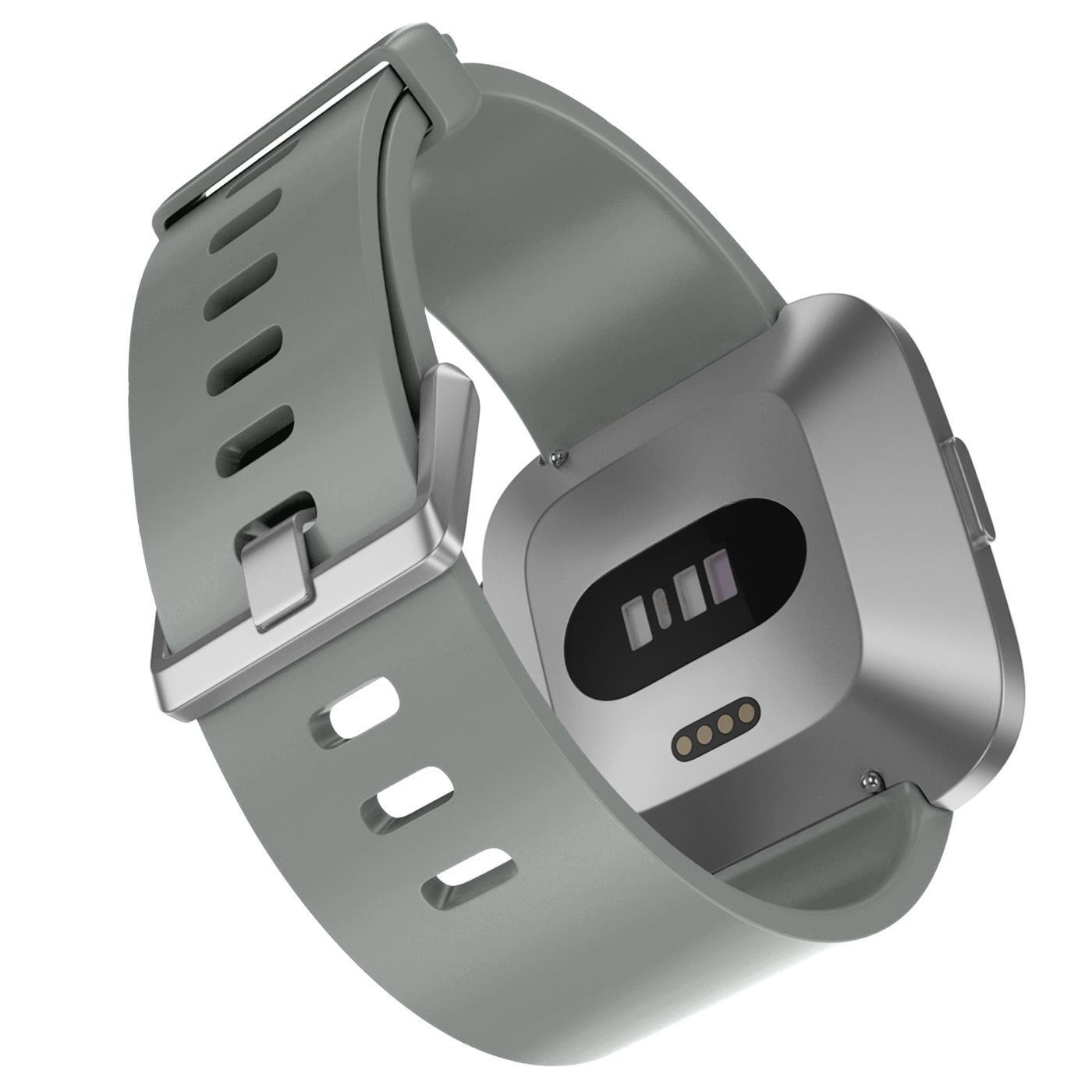Fitbit-Groesse-S-oder-L-Ersatz-Silikon-Armband-Uhren-Sport-Band-Fitness-Tracker Indexbild 34