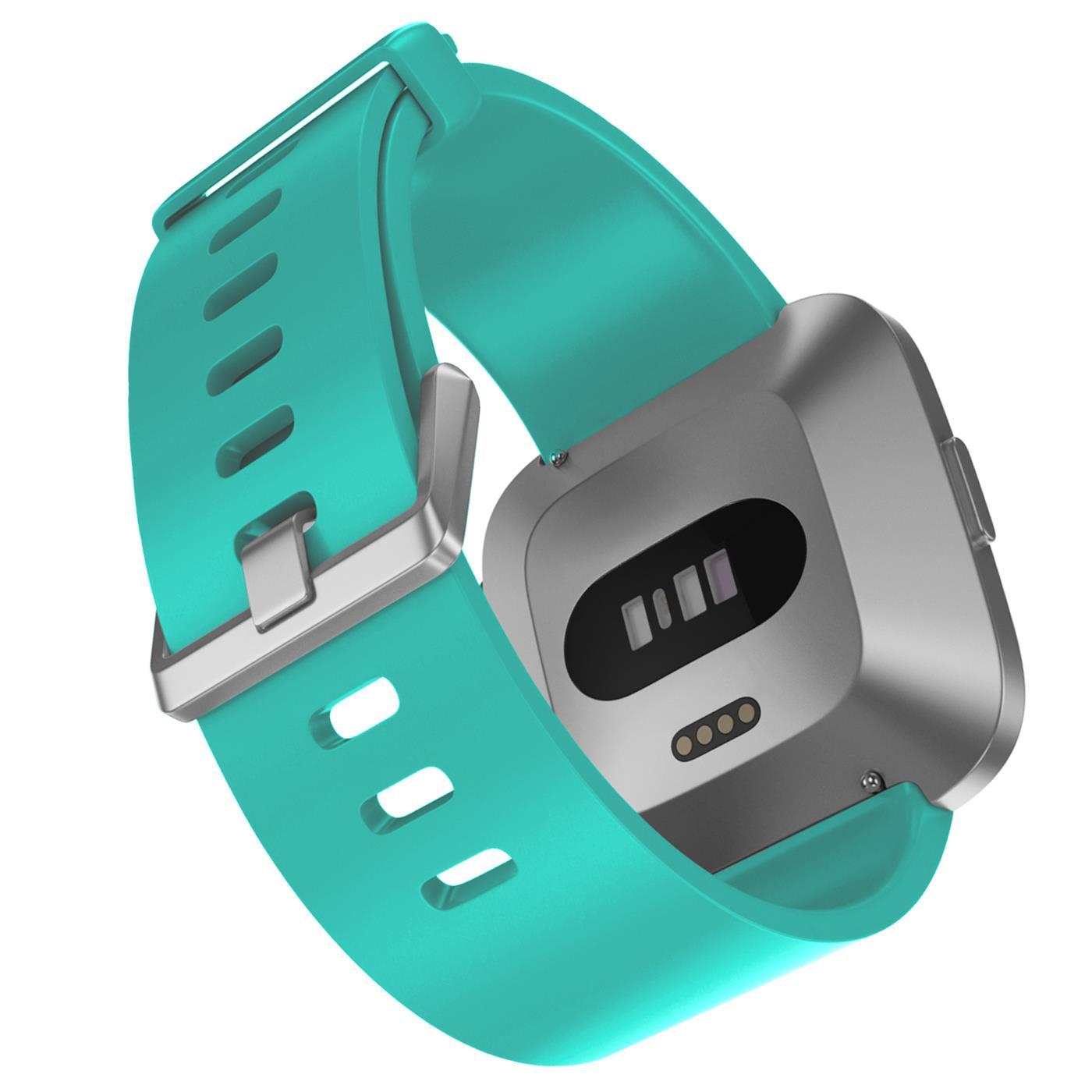 Fitbit-Groesse-S-oder-L-Ersatz-Silikon-Armband-Uhren-Sport-Band-Fitness-Tracker Indexbild 35