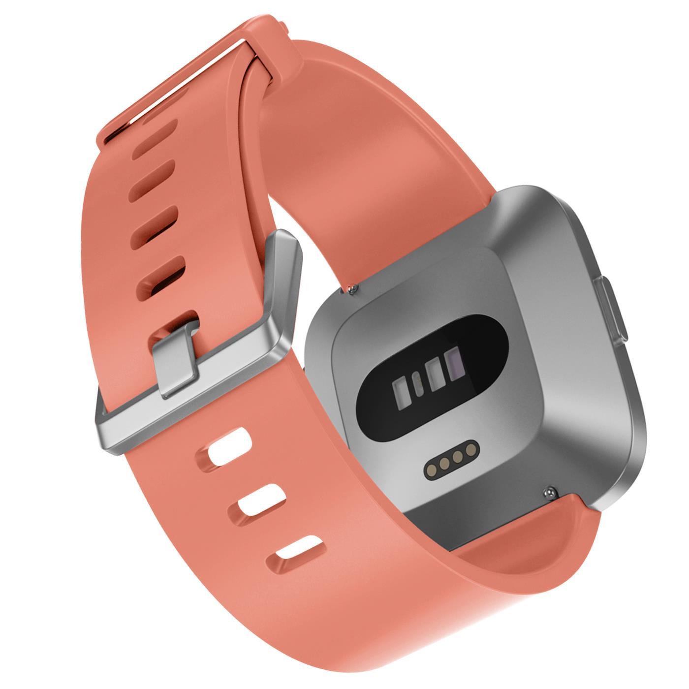Fitbit-Groesse-S-oder-L-Ersatz-Silikon-Armband-Uhren-Sport-Band-Fitness-Tracker Indexbild 36