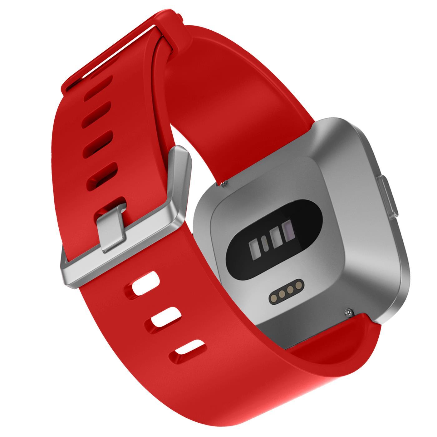 Fitbit-Groesse-S-oder-L-Ersatz-Silikon-Armband-Uhren-Sport-Band-Fitness-Tracker Indexbild 37