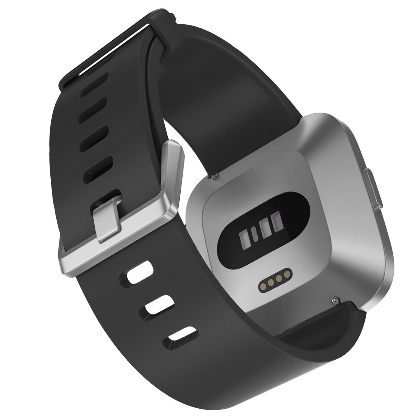 Fitbit-Groesse-S-oder-L-Ersatz-Silikon-Armband-Uhren-Sport-Band-Fitness-Tracker Indexbild 38