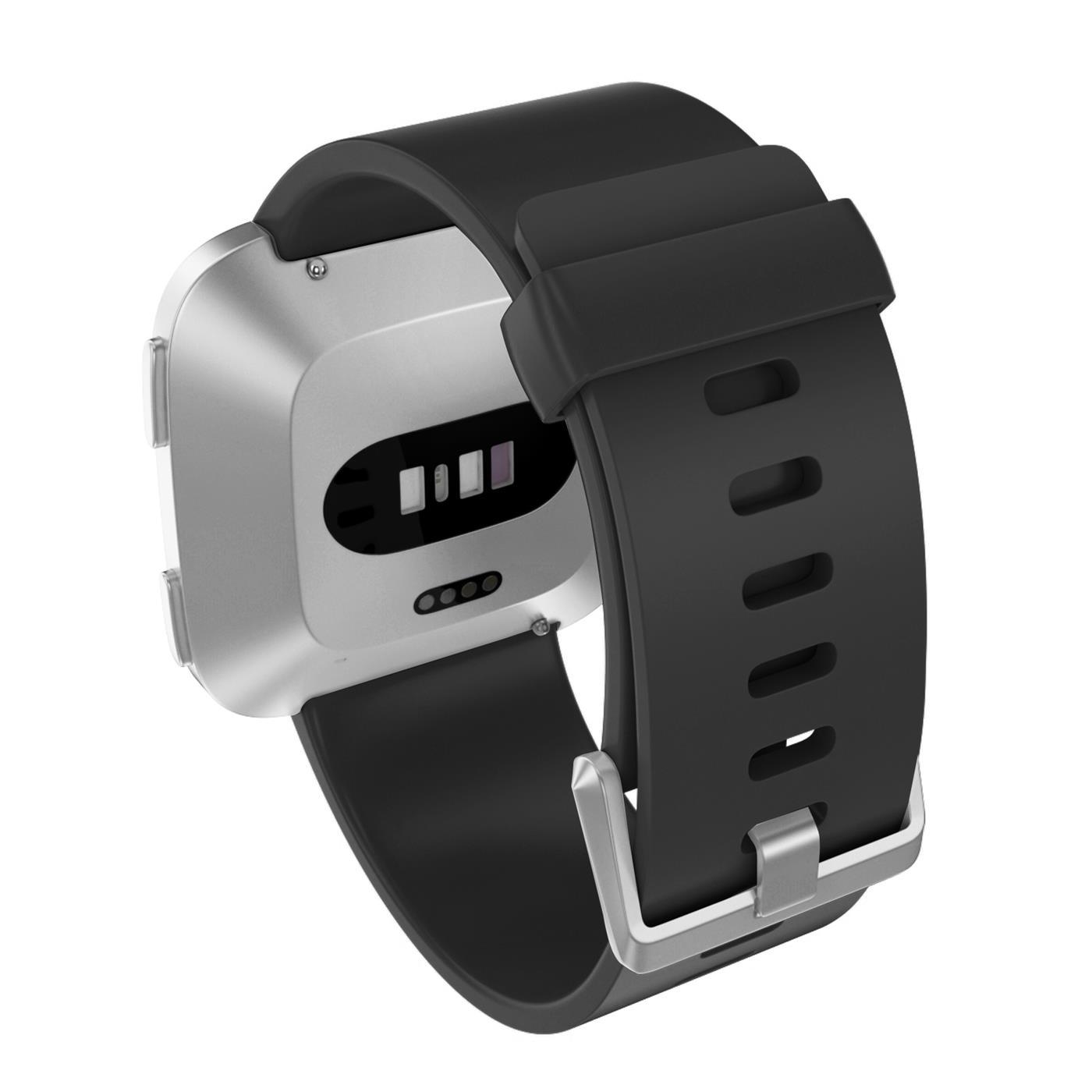 Fitbit-Groesse-S-oder-L-Ersatz-Silikon-Armband-Uhren-Sport-Band-Fitness-Tracker Indexbild 39