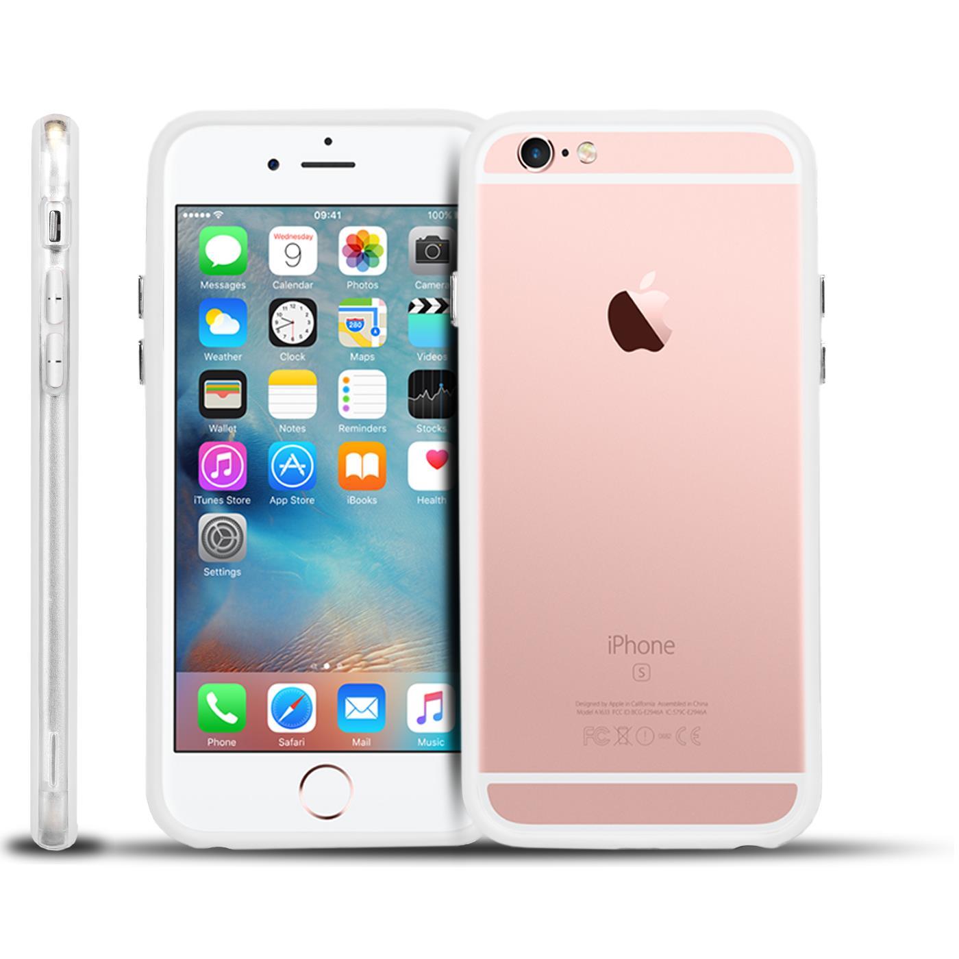 bumper f r apple iphone case h lle handy cover schutz silikon tpu tasche ebay. Black Bedroom Furniture Sets. Home Design Ideas