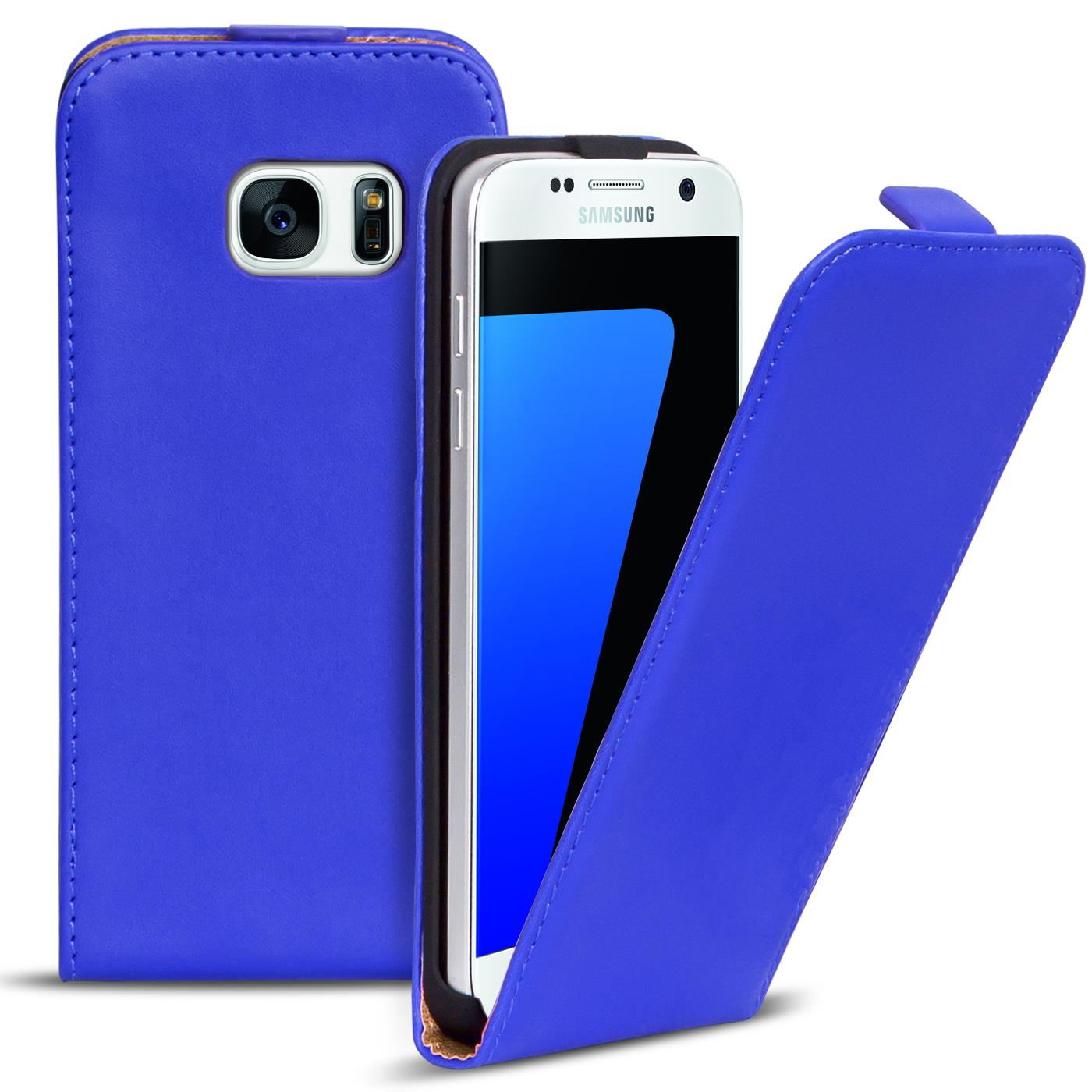 Flip-Case-fuer-Samsung-Galaxy-Huelle-Handy-Tasche-Klapphuelle-Schutzhuelle-Cover