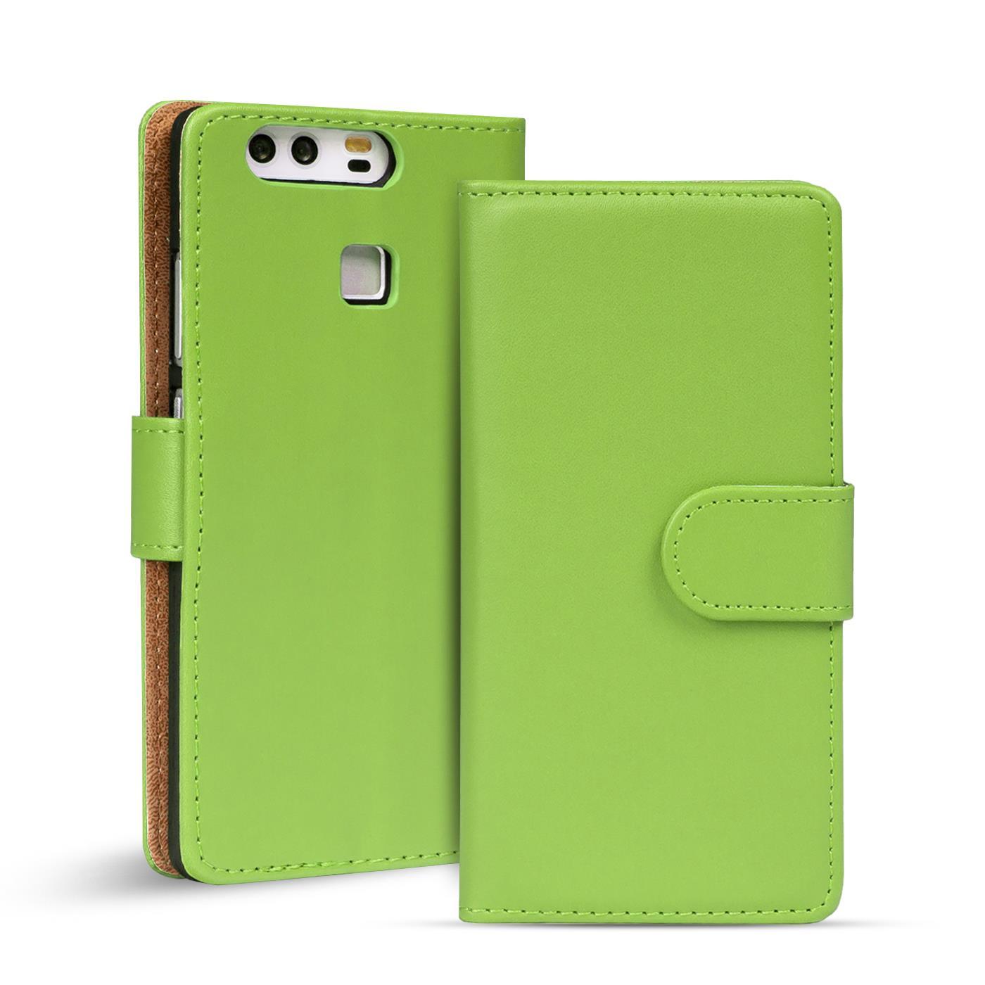 Handy-Huelle-fuer-Huawei-Modelle-Case-Schutz-Tasche-Cover-Basic-Wallet-Flip-Etui
