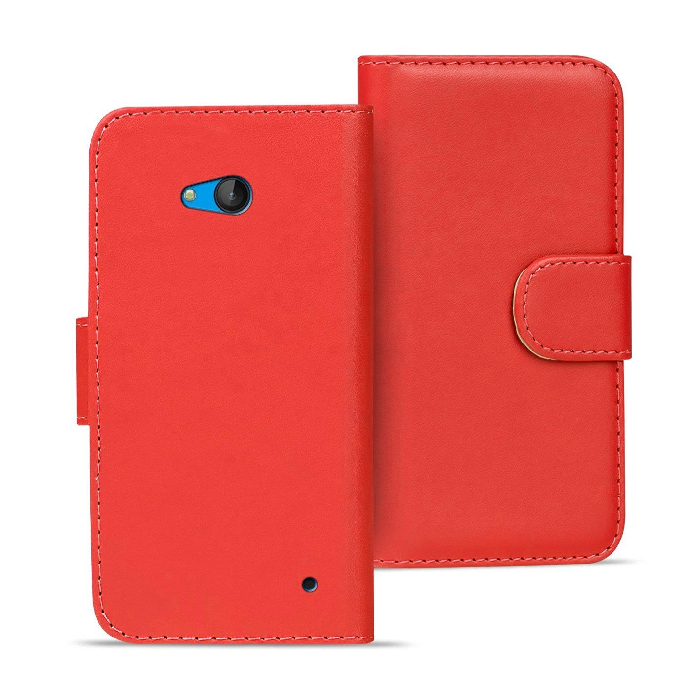 Handy-Tasche-fuer-Microsoft-Nokia-Lumia-Flip-Cover-Case-Schutz-Huelle-Etui-Wallet
