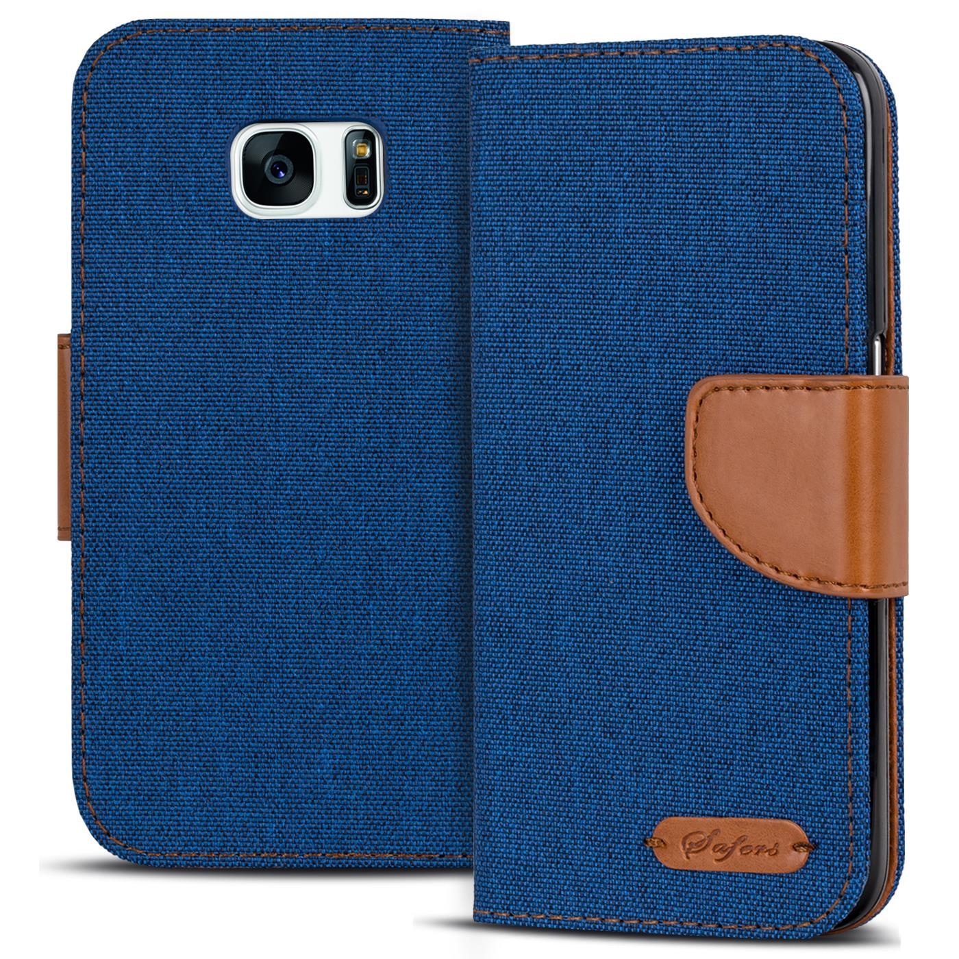 Schutzhuelle-Samsung-Galaxy-Huelle-Flip-Case-Handy-Tasche-Klapphuelle-Book-Cover
