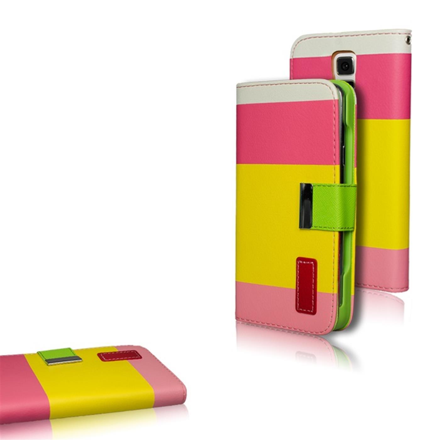 Handy-Tasche-fuer-verschiedene-Modelle-Flip-Case-Schutz-Huelle-Cover-Etui-Bumper