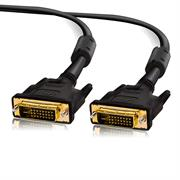1,5m DVI D Dual Link 24+1 Pin Monitor Beamer Anschluss Stecker Adapter Kabel