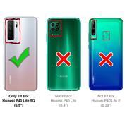 Farbwechsel Hülle für Huawei P40 Lite 5G Schutzhülle Handy Case Slim Cover