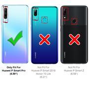 Panzerglas für Huawei P Smart Pro, Honor 9X Pro Glasfolie Displayschutz Folie Glas Hartglas Anti Fingerprint