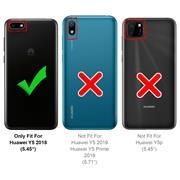 Farbwechsel Hülle für Huawei Y5 2018 Schutzhülle Handy Case Slim Cover