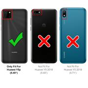 Farbwechsel Hülle für Huawei Y5p Schutzhülle Handy Case Slim Cover