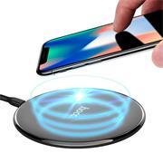Hoco CW6 Wireless QI Charger Ultra Slim kabelloses Ladegerät Induktion schnelle Aufladung