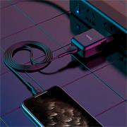 Hoco N2 USB Ladegerät + Lightning Lade Kabel Single Netzteil mit 2.0A Reise Ladestecker