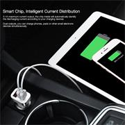 Hoco Z3 3.1A KFZ Schnellladegerät 2x USB Power Port Ladegerät Stecker mit Display