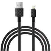 Hoco X29 USB Kabel 1m Lightning Ladekabel Datenkabel Carbon Faser Textur