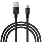 Hoco X29 USB Kabel 1m Micro-USB Ladekabel Datenkabel Carbon Faser Textur
