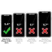 Flipcase für Apple iPhone 13 Mini Hülle Klapphülle Cover klassische Handy Schutzhülle