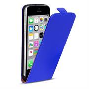 Basic Flip Case für Apple iPhone 5C Klapptasche Cover Hülle in Blau