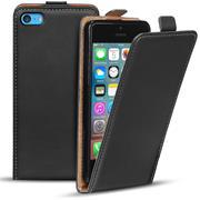 Basic Flip Case für Apple iPhone 5C Klapptasche Cover Hülle