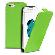 Basic Flip Case für Apple iPhone 8 Klapptasche Cover Hülle in Grün