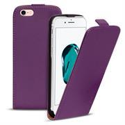 Basic Flip Case für Apple iPhone 8 Klapptasche Cover Hülle in Lila