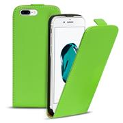 Basic Flip Case für Apple iPhone 8 Plus Klapptasche Cover Hülle in Grün