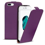 Basic Flip Case für Apple iPhone 8 Plus Klapptasche Cover Hülle in Lila