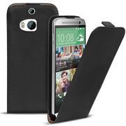 Flip Case Cover für HTC One M8 Klapptasche Handy Schutz Hülle
