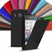 Flip Case Cover für Huawei Ascend G510 Klapptasche Handy Hülle