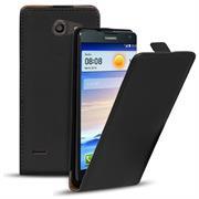 Basic Flip Case für Huawei Ascend G730 Klapptasche Cover Hülle