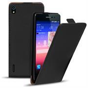 Flip Case Cover für Huawei Ascend P7 Klapptasche Handy Hülle