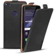 Flipcase für Huawei P8 Lite 2017 Hülle Klapphülle Cover klassische Handy Schutzhülle