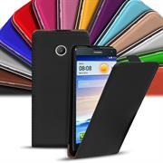 Flip Case Cover für Huawei Ascend Y330 Klapptasche Handy Hülle