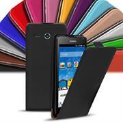Flip Case Cover für Huawei Ascend Y530 Klapptasche Handy Hülle