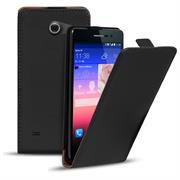 Basic Flip Case für Huawei Ascend Y550 Klapptasche Cover Hülle